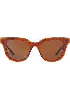 Dolce & Gabbana Havana wayfarer sunglasses