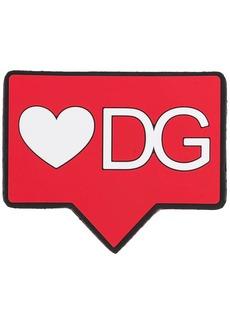 Dolce & Gabbana heart logo Sorrento DGPATCH