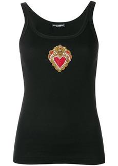 Dolce & Gabbana heart tank top