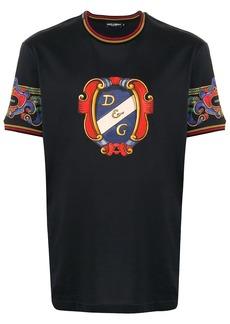 Dolce & Gabbana heraldic printed T-shirt