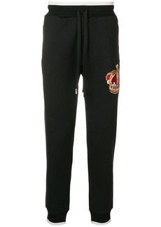 Dolce & Gabbana heritage crown track pants