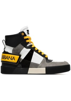 Dolce & Gabbana hi-top leather sneakers