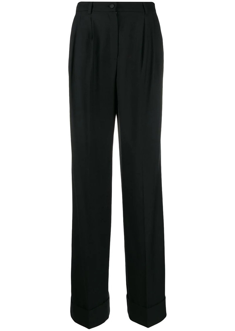Dolce & Gabbana high-waisted flared trousers