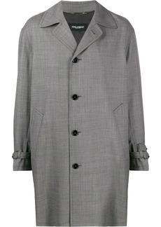 Dolce & Gabbana houndstooth check coat