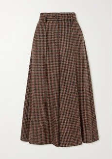 Dolce & Gabbana Houndstooth Tweed Culottes