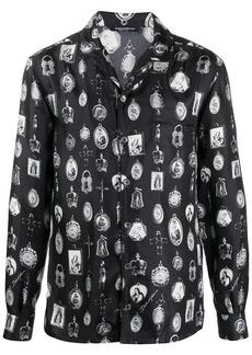 Dolce & Gabbana idol print shirt