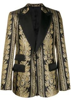 Dolce & Gabbana jacquard casino tuxedo jacket