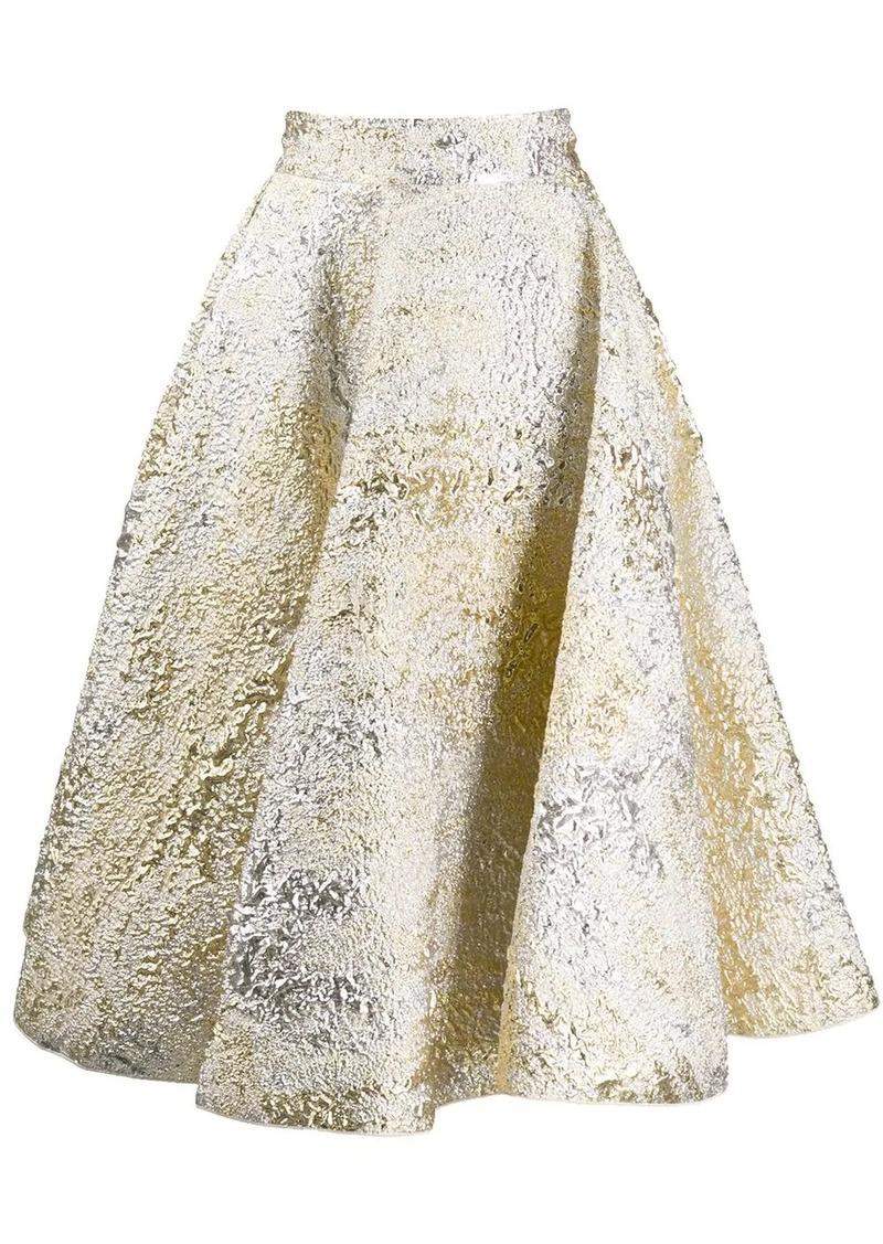 Dolce & Gabbana jacquard full skirt
