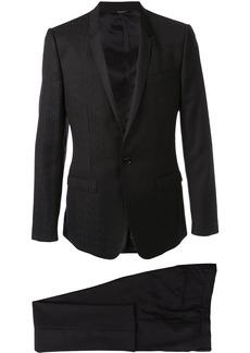 Dolce & Gabbana jacquard logo dinner suit