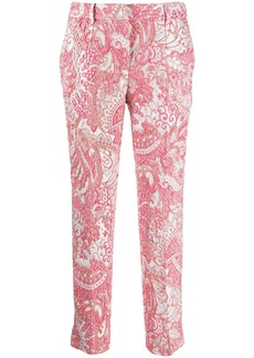 Dolce & Gabbana jacquard printed trousers