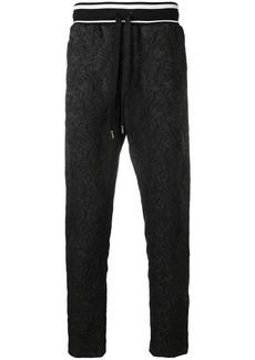 Dolce & Gabbana jacquard track pants