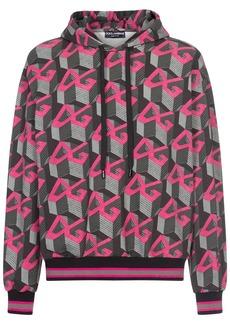Dolce & Gabbana geometric logo print hoodie