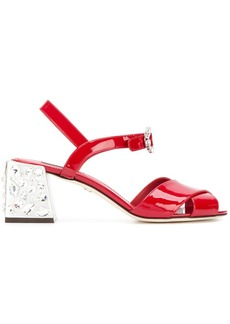 Dolce & Gabbana Keira gemstone embellished sandals