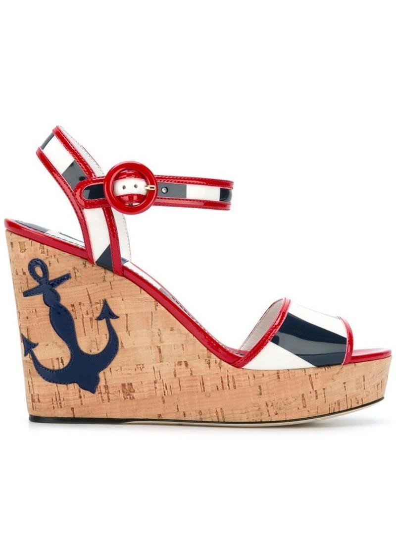 Dolce & Gabbana Keira wedge sandals