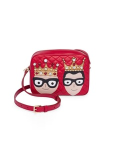 Dolce & Gabbana King & Queen Leather Mini Bag