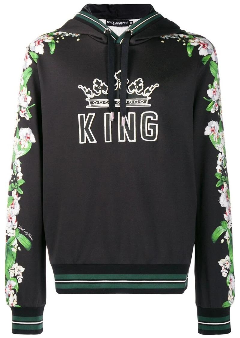 Dolce & Gabbana King hoodie