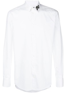 Dolce & Gabbana King patch collar shirt