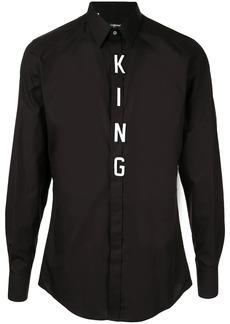 Dolce & Gabbana King patch shirt