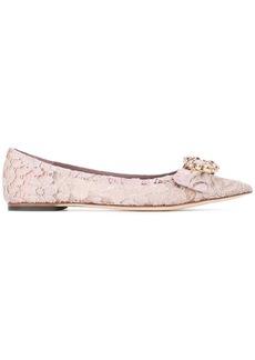 Dolce & Gabbana lace ballerina flats