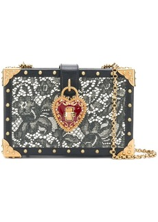 Dolce & Gabbana lace box shoulder bag