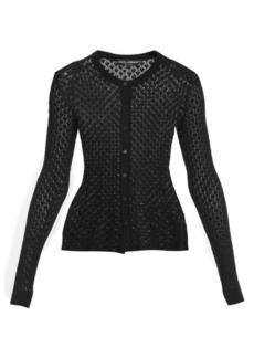 Dolce & Gabbana Lace Detail Cardigan