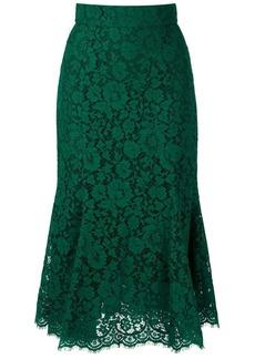 Dolce & Gabbana lace mid-length skirt