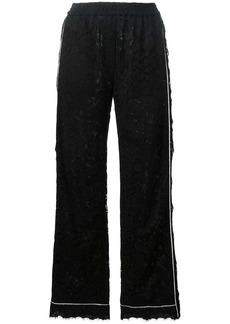 Dolce & Gabbana lace palazzo pants