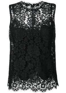 Dolce & Gabbana lace trim top