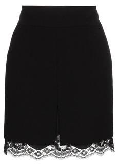 Dolce & Gabbana lace trim skirt