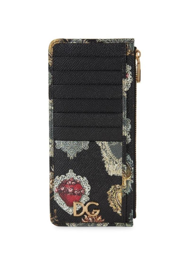 Dolce & Gabbana Leather Card Case