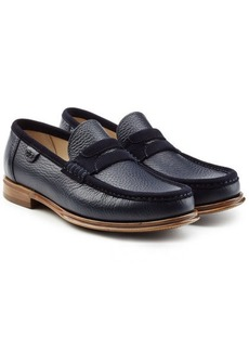 Dolce & Gabbana Leather Loafers with Suede