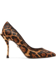 Dolce & Gabbana Leopard-print Calf Hair Pumps