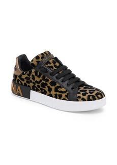 Dolce & Gabbana Leopard Print Classic Sneakers