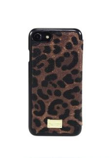 Dolce & Gabbana Leopard-Print iPhone 7 Case