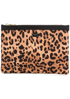 Dolce & Gabbana leopard print make up bag