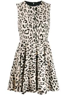 Dolce & Gabbana leopard print mini dress