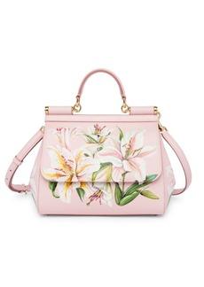 Dolce & Gabbana Lilium Sicily Top Handle Bag