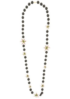 Dolce & Gabbana lily beaded necklace