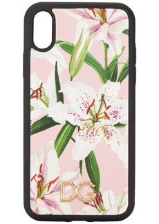 Dolce & Gabbana lily print iPhone XR case