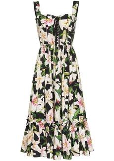 Dolce & Gabbana Lily printed midi dress