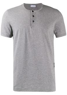 Dolce & Gabbana logo buttoned T-shirt
