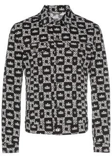 Dolce & Gabbana logo-checked denim jacket