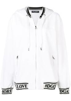 Dolce & Gabbana logo detail hoodie