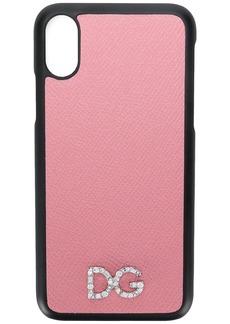 Dolce & Gabbana logo detail iPhone X case