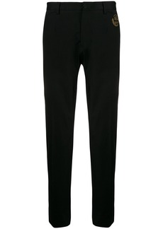 Dolce & Gabbana logo embroidered tailored trousers