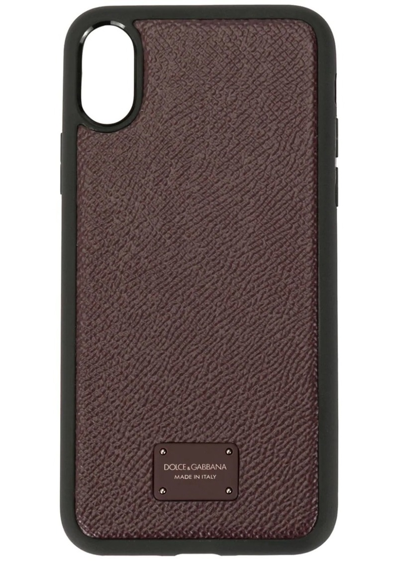 Dolce & Gabbana logo iPhone X case