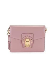 Dolce & Gabbana Logo Leather Crossbody Bag