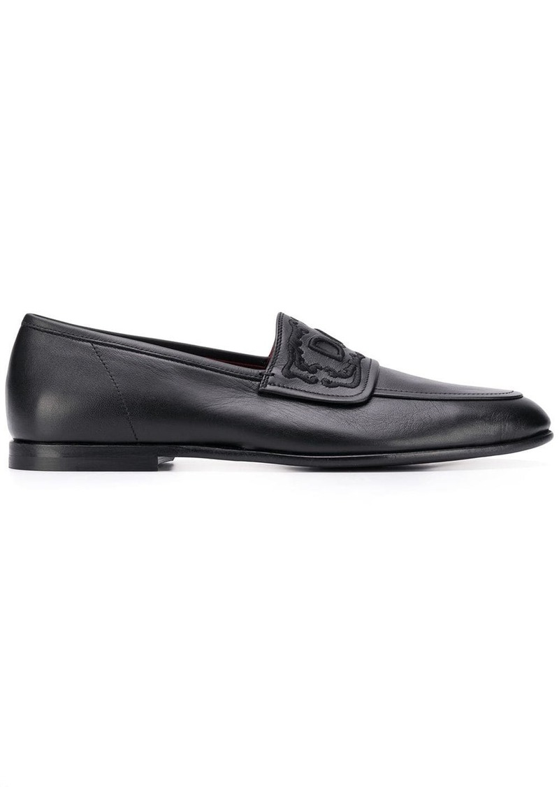 Dolce & Gabbana logo loafers