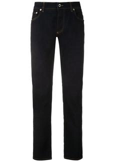 Dolce & Gabbana logo patch bootcut jeans