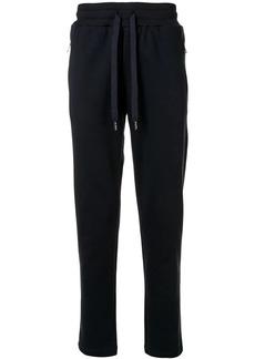 Dolce & Gabbana logo patch track pants